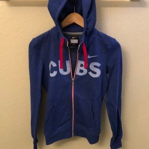 Cubs Zip Up Sweatshirt